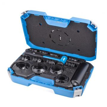 Front Wheel Bearing Adapter Drive Hub Puller Press Removal Tool Set 23pc w/ Case