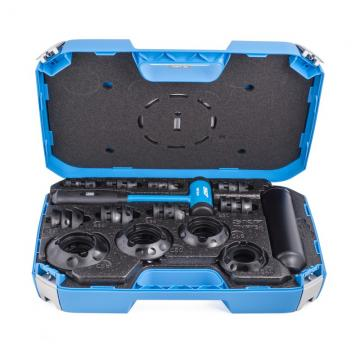 23Pcs Front Wheel Drive Bearing Adapters Puller Bushing Press Removal Tools Set