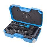 17Pcs Slide Hammer Dent Puller Tool Kit Wrench Adapter Axle Bearing Hub Auto Set